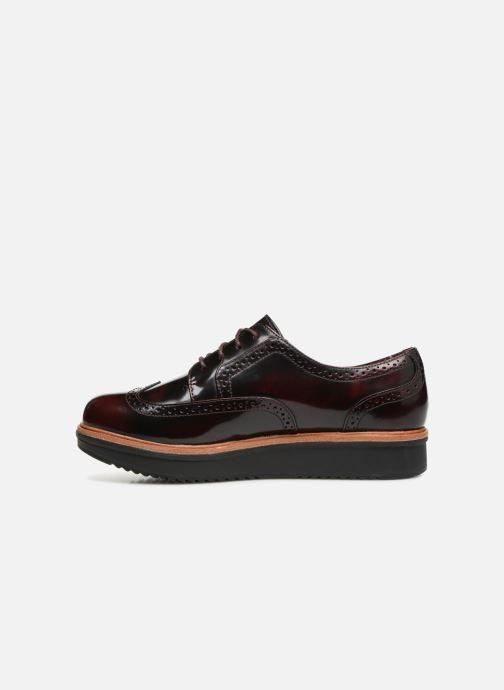 Snörade skor Clarks Teadale Maira Lila bild från framsidan