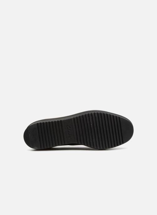 Zapatos con cordones Clarks Teadale Maira Violeta      vista lateral izquierda