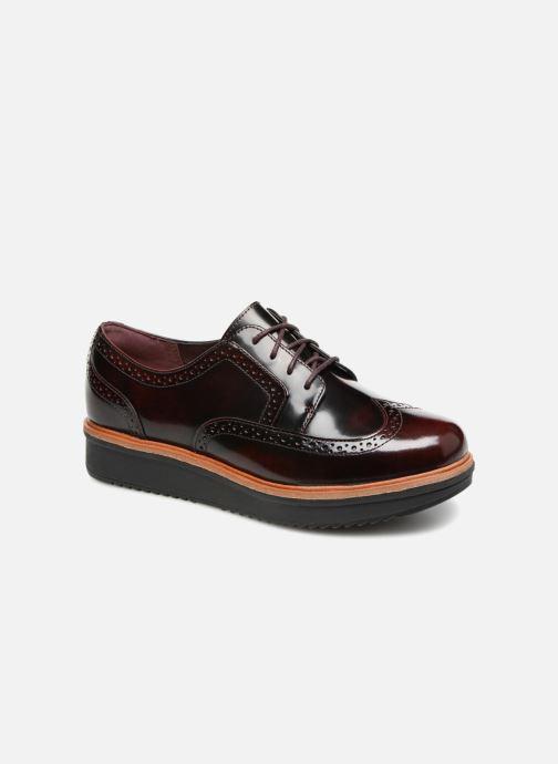 Chaussures à lacets Clarks Teadale Maira Violet vue détail/paire