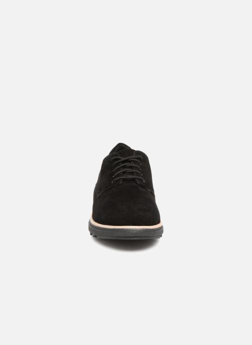 Chaussures à lacets Clarks Sharon Noel Noir vue portées chaussures