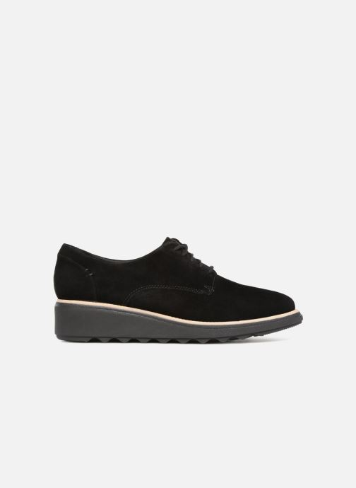 Lace-up shoes Clarks Sharon Noel Black back view