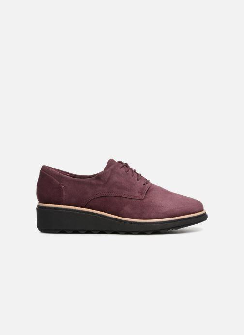 Zapatos con cordones Clarks Sharon Noel Vino vistra trasera