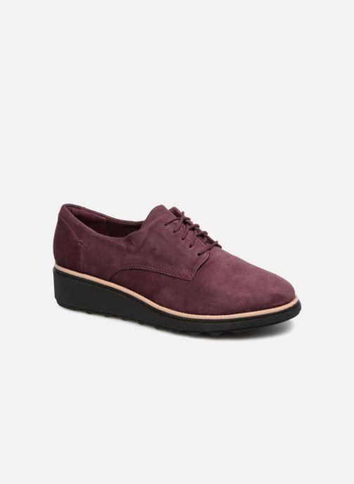 Zapatos con cordones Clarks Sharon Noel Vino vista de detalle / par