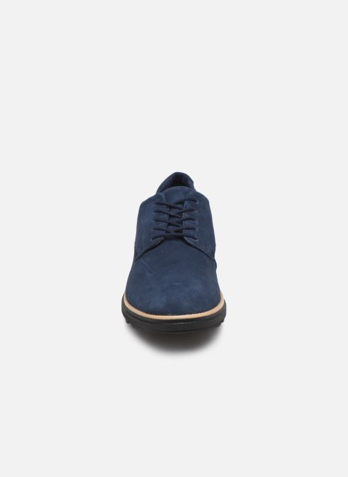 Lace-up shoes Clarks Sharon Noel Blue model view