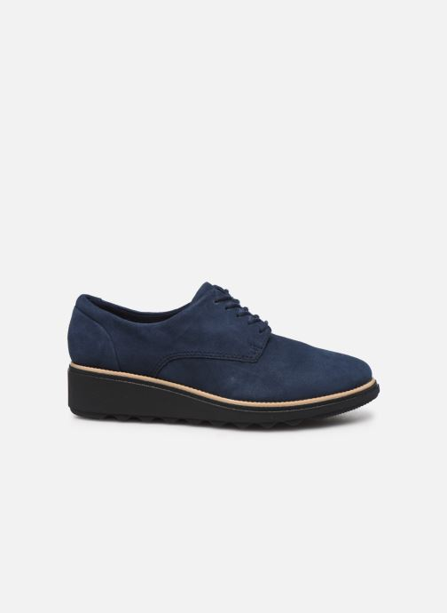 Lace-up shoes Clarks Sharon Noel Blue back view