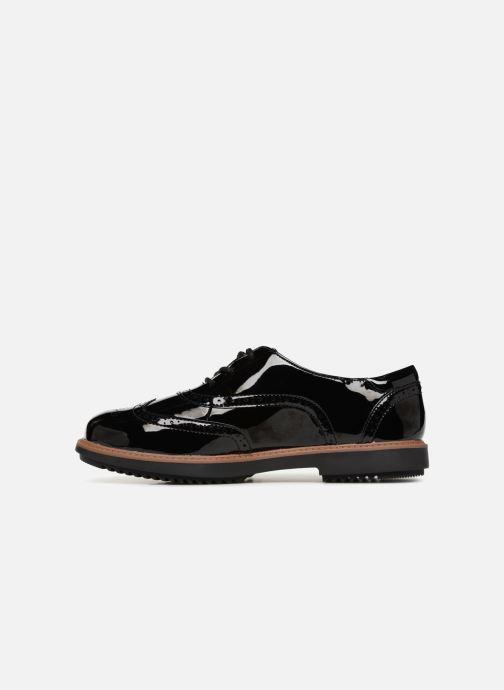 Zapatos con cordones Clarks Raisie Hilde Negro vista de frente