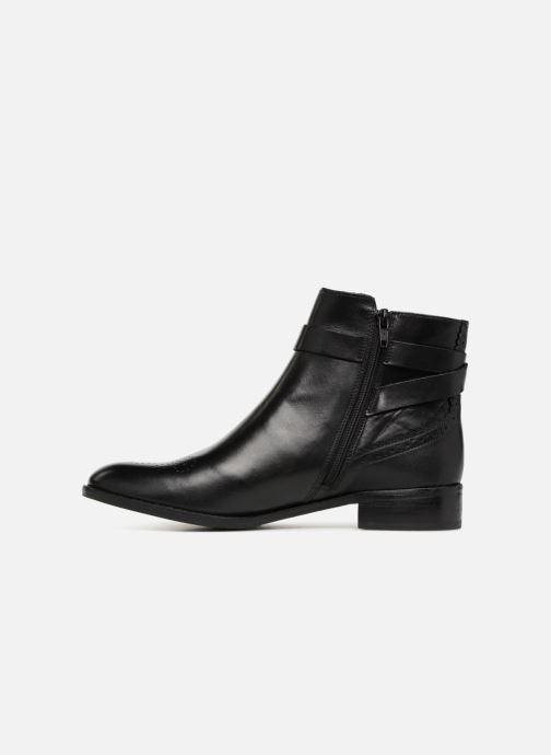 Bottines et boots Clarks Netley Olivia NEW Noir vue face
