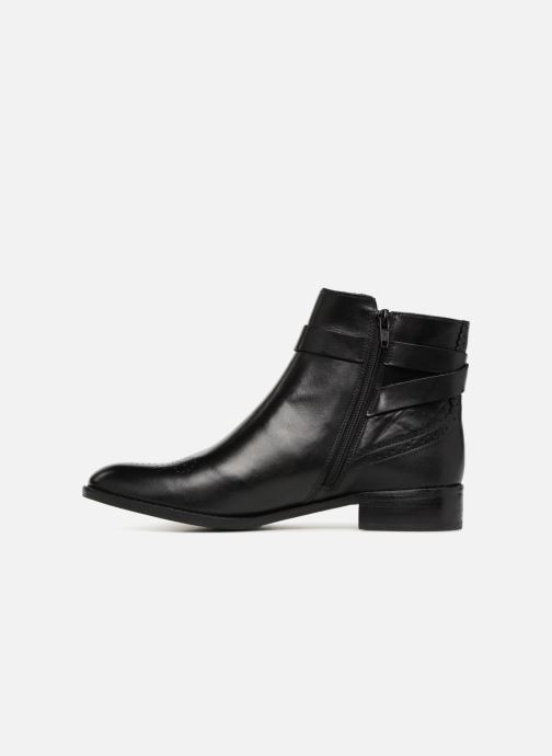 Boots en enkellaarsjes Clarks Netley Olivia NEW Zwart voorkant