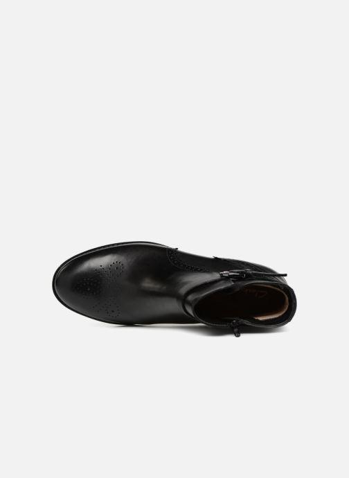 Bottines et boots Clarks Netley Olivia NEW Noir vue gauche