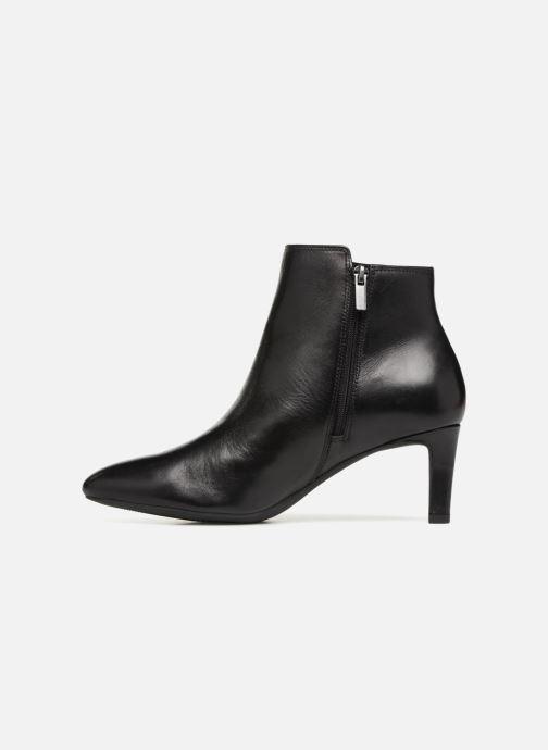 Boots en enkellaarsjes Clarks Calla Blossom Zwart voorkant