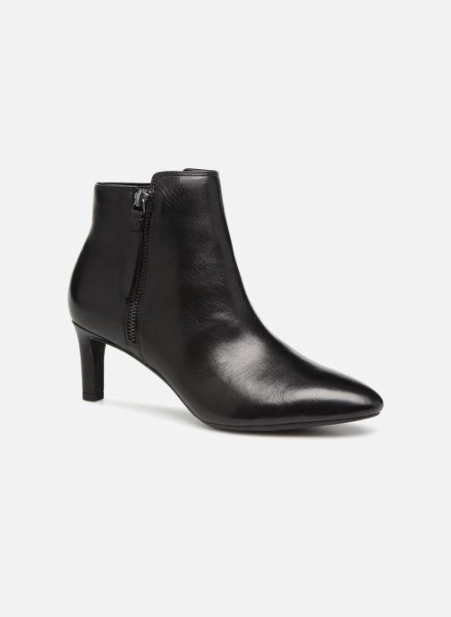 Bottines et boots Clarks Calla Blossom Noir vue détail/paire