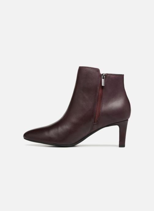 Boots en enkellaarsjes Clarks Calla Blossom Paars voorkant