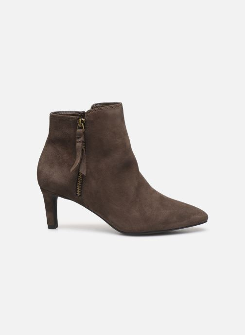 Ankle boots Clarks Calla Blossom Brown back view