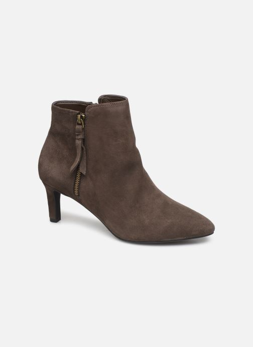 Ankle boots Clarks Calla Blossom Brown detailed view/ Pair view
