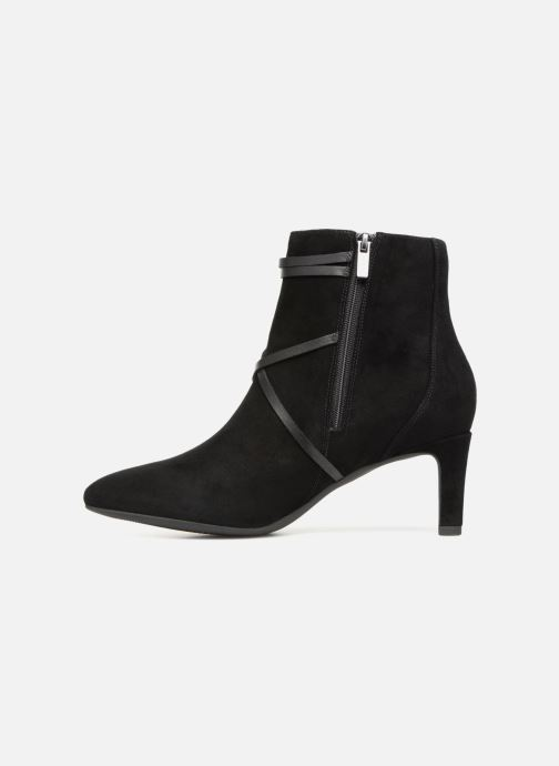 Boots en enkellaarsjes Clarks Calla Aster Zwart voorkant