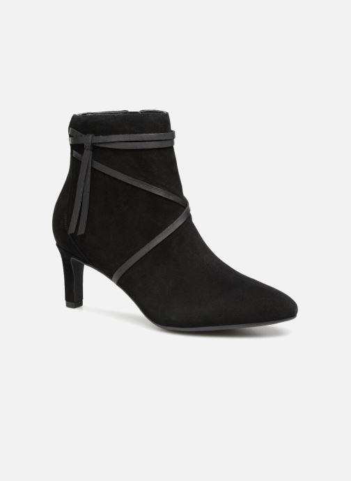 Boots en enkellaarsjes Clarks Calla Aster Zwart detail