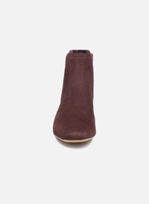 Bottines et boots Clarks Orabella Ruby Violet vue portées chaussures