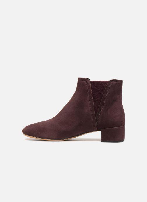 Bottines et boots Clarks Orabella Ruby Violet vue face