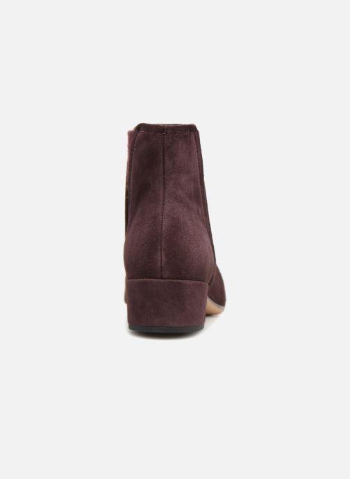 Bottines et boots Clarks Orabella Ruby Violet vue droite
