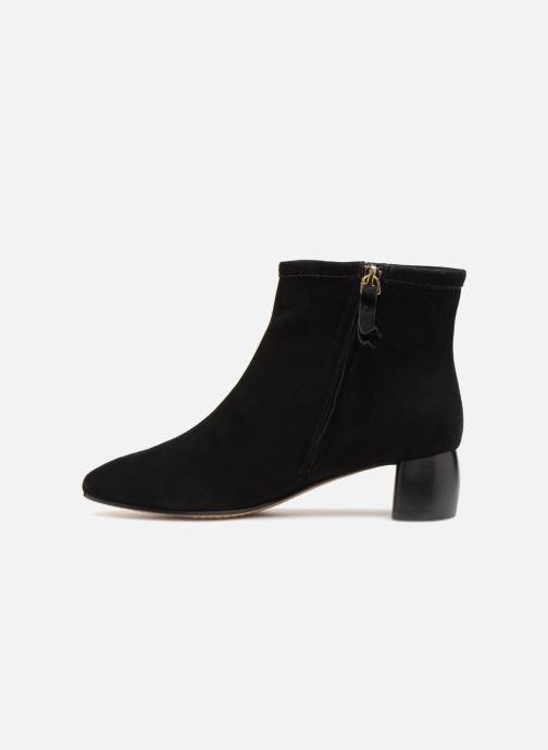 Bottines et boots Clarks Grace Bella Noir vue face