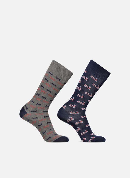 Sokken en panty's Sarenza Wear Chaussette Homme Scooters  & Nœuds Pap' / Lunettes Multicolor detail