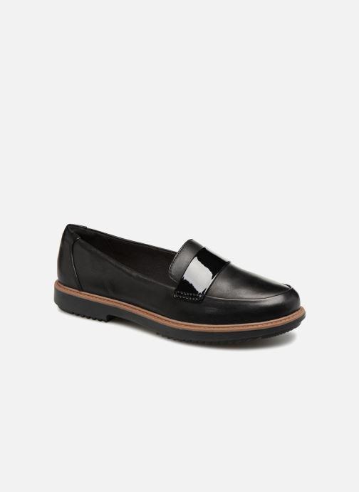 Loafers Clarks Raisie Arlie Sort detaljeret billede af skoene