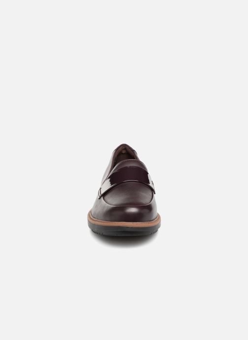Mocassins Clarks Raisie Arlie Violet vue portées chaussures