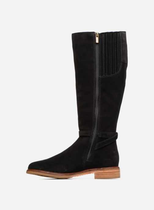 Boots & wellies Clarks Clarkdale Clad Black front view