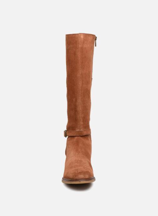 Bottes Clarks Clarkdale Clad Marron vue portées chaussures