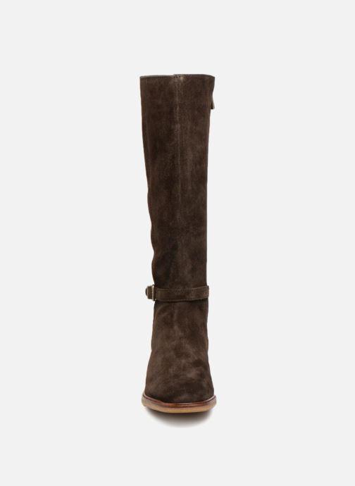 Stiefel Clarks Clarkdale Clad braun schuhe getragen
