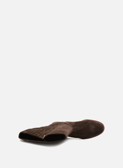 Stiefel Clarks Clarkdale Clad braun ansicht von links