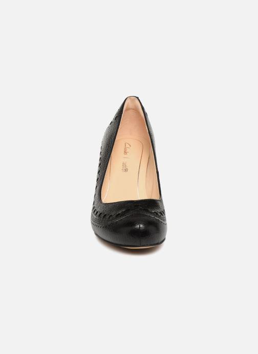 High heels Clarks Dalia Ruby Black model view