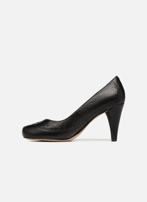 High heels Clarks Dalia Ruby Black front view