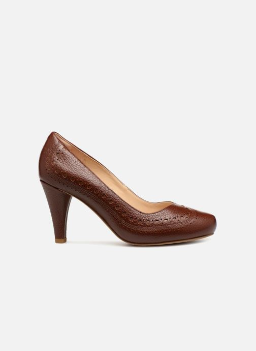 Zapatos de tacón Clarks Dalia Ruby Marrón vistra trasera