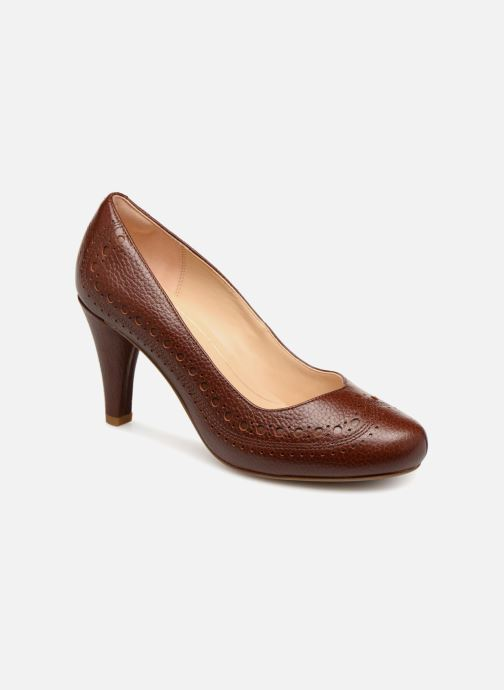Zapatos de tacón Clarks Dalia Ruby Marrón vista de detalle / par