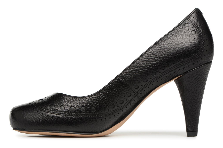 Leather Clarks Dalia Dalia Ruby Ruby Clarks Black Black 0Hq818