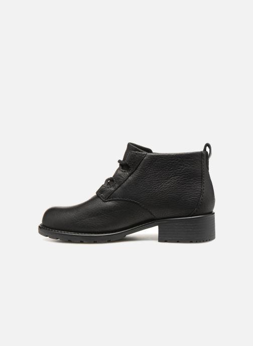 Bottines et boots Clarks Orinoco Oaks Noir vue face