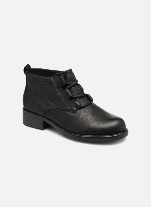 Bottines et boots Clarks Orinoco Oaks Noir vue détail/paire