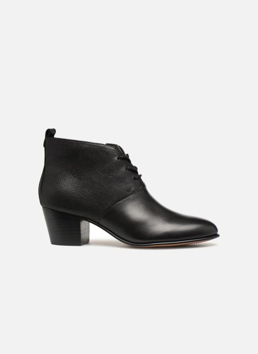 Botines  Clarks Maypearl Lucy Negro vistra trasera