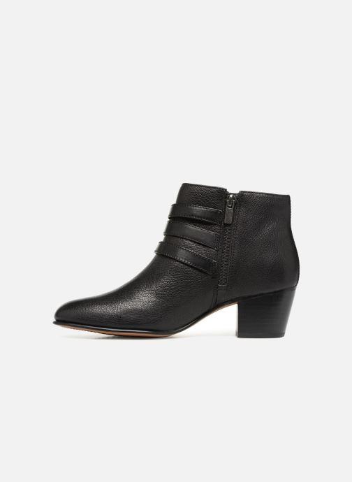 Bottines et boots Clarks Maypearl Rayna Noir vue face