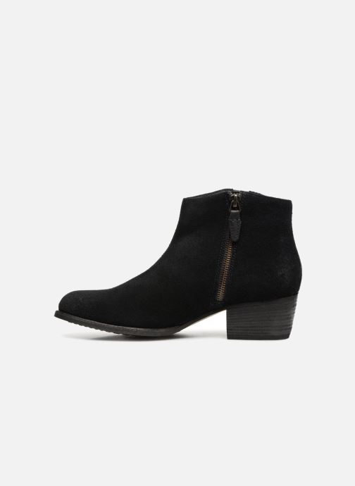 Ankle boots Clarks Maypearl Fawn Black front view