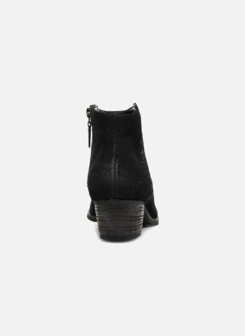 Bottines et boots Clarks Maypearl Fawn Noir vue droite