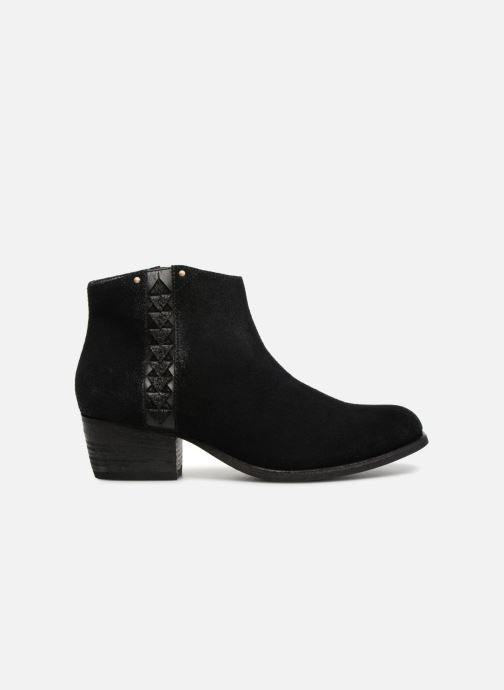 Ankle boots Clarks Maypearl Fawn Black back view