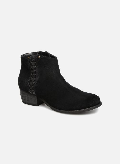 Ankle boots Clarks Maypearl Fawn Black detailed view/ Pair view