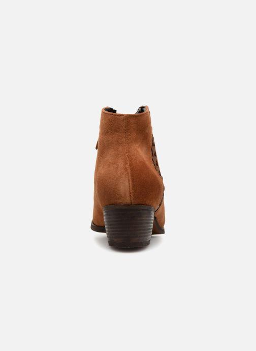 Boots en enkellaarsjes Clarks Maypearl Fawn Bruin rechts