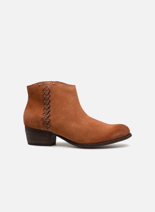Boots en enkellaarsjes Clarks Maypearl Fawn Bruin achterkant
