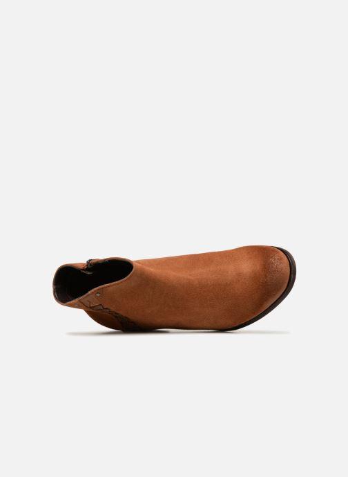 Boots en enkellaarsjes Clarks Maypearl Fawn Bruin links