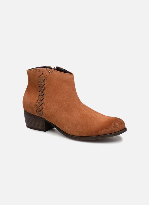 Bottines et boots Clarks Maypearl Fawn Marron vue détail/paire