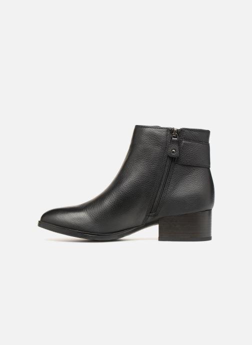 Bottines et boots Clarks Elvina Dream Noir vue face
