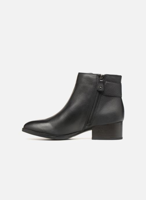 Ankle boots Clarks Elvina Dream Black front view